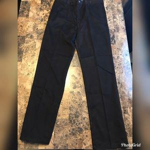 Size 14 Boy's Children's Place Black Uniform Pants